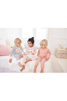 Butterfly Snuggle Pyjamas Three Pack (9mths-8yrs)