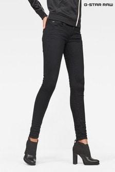 G-Star Lynn Super Skinny Jeans mit mittelhohem Bund