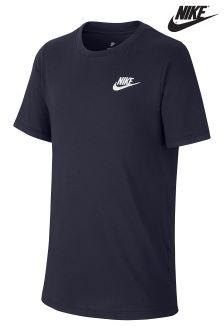 Nike Navy Futura Tee