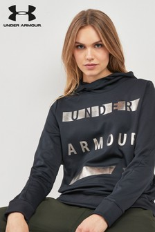 Under Armour Black Metallic Logo Hoody