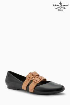 Vivienne Westwood Black/Nude Contrast Doll Shoe