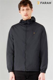 Farah Black Smith Zip Jacket