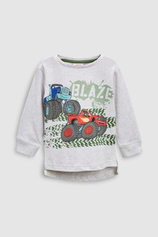 Long Sleeve Blaze T-Shirt (3mths-6yrs)