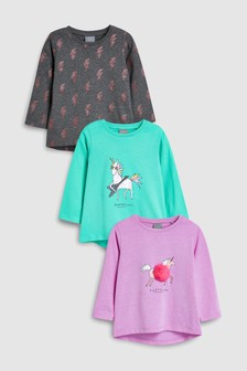 Unicorn T-Shirts Three Pack (3mths-6yrs)