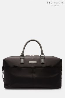 Ted Baker Black Holies Nylon Holdall