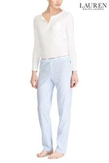 Lauren Ralph Lauren® Stripe Logo Pyjama Pants