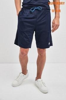 Superdry Sport Navy Camo Short