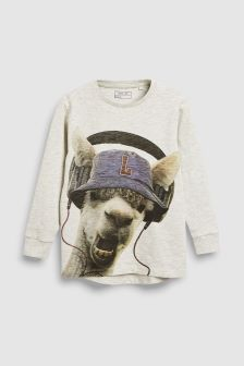 Llama Long Sleeve T-Shirt (3-16yrs)