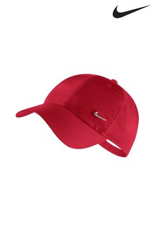 Nike Adult Red Swoosh Cap