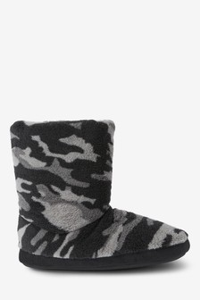 Camo Slipper Boots (Older)