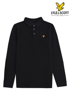 Lyle & Scott Long Sleeve Poloshirt