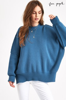 Free People Easy Street Rippenpullover