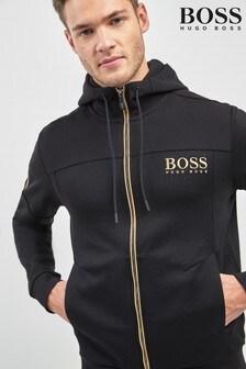 BOSS Black/Gold Slouchy Hoody
