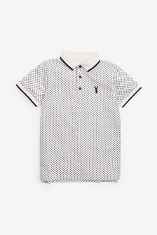 Geo All Over Print Polo (3-16yrs)