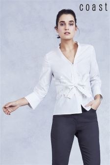 Coast White Naomi Belted Shirt