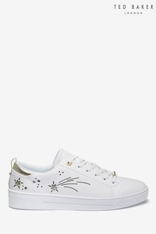 Ted Baker White Star Trainers