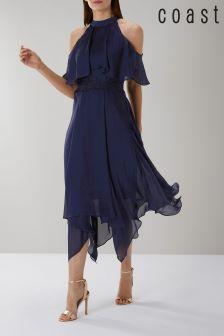 Coast Blue Charley Trim Detail Dress