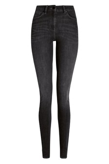 Flexible Skinny Jeans mit Zweiwege-Stretch
