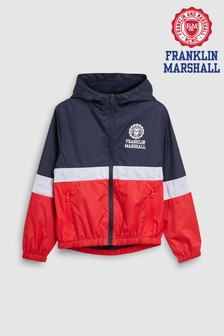 Franklin & Marshall Mesh Windcheater