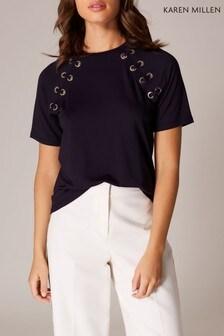 0a6a28c79509 Buy Women's tops Tops Tshirts Tshirts Karenmillen Karenmillen from ...