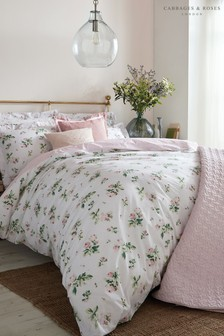 Cabbages & Roses Clementine Floral Cotton Duvet Cover
