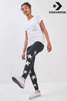 Converse Black Star Print Legging