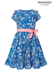 Monsoon Blue Lucia Dress