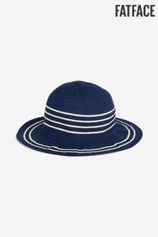 FatFace Blue Ribbon Tape Floppy Hat