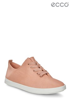 Ecco Pink Lace-Up Shoe