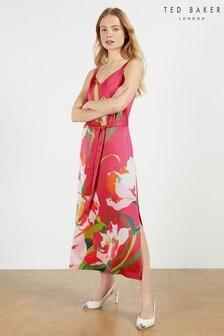 Ted Baker Meaaa Urban Printed Midi Dress