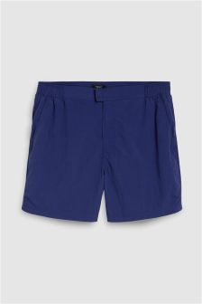Fixed Waist Swim Shorts