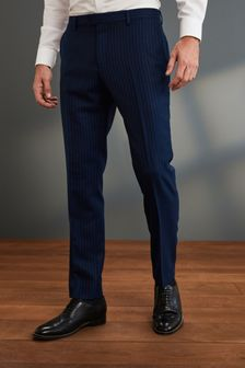 Slim Fit Signature Stripe Suit: Trouser