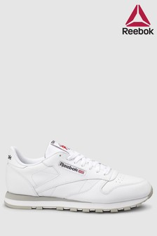 Reebok White/Grey Leather Club