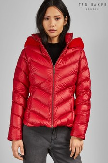 Ted Baker Red Laiya Light Weight Padded Jacket