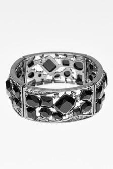Jewelled Stone Expander Bracelet