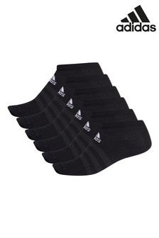 adidas Black Low Socks Six Pack