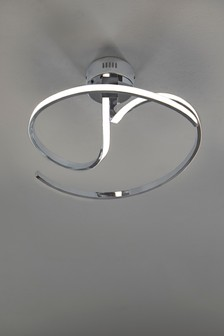 Sculptural LED Flush Fitting