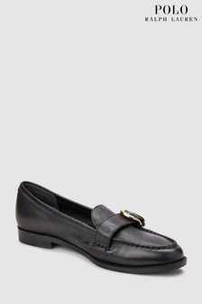 Lauren Ralph Lauren® Black Bethy Buckle Loafer