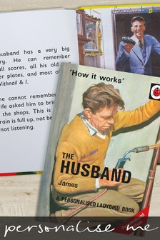 Personalised Ladybird The Husband Book by Signature Book Publishing