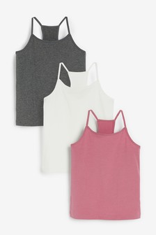 3 Pack Racer Back Camis (1.5-16yrs)
