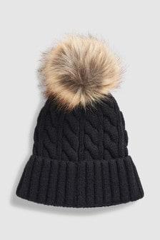 Womens Pom Pom Hats  4b7a31cc7