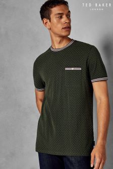 Ted Baker Glaad Pique Mini Spot T-Shirt