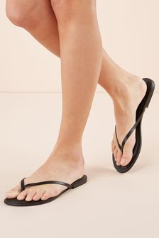 00bb40921e46 Black · Lime · Rose Gold · White · Forever Comfort® Leather Flip Flops