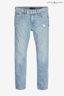 Tommy Hilfiger Boys Blue Scanton Slim Light Jean