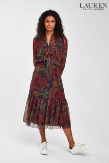 Lauren Ralph Lauren® Paisley Amory Midi Dress