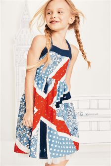 Union Jack Prom Dress (3-14yrs)
