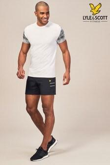 Lyle & Scott Sport Black Ultra Light Running Short