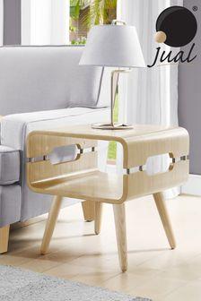 Havana Oak Lamp Table By Jual