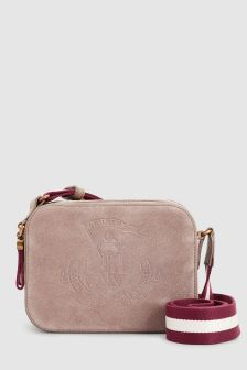 Lauren Ralph Lauren Taupe Huntley Cross Body