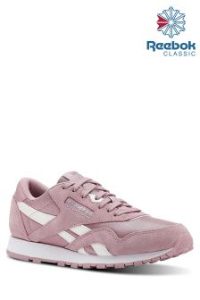 Baskets Reebok Classic rose/blanc